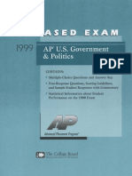 1999 AP Gov