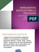 Herramientas Digitales Para La Educacion