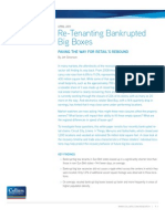 Re-Tenanting Bankrupted Big Boxes