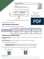 Ficha de Trabajo - Sistemas Materiales