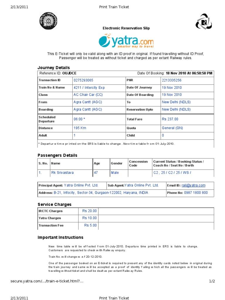Edit Print Train Ticket Identity Document Ticket Admission