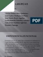 BD - DEPENDENCIA FUNCIONAL