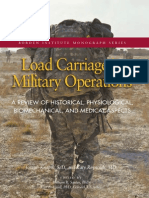 Load Carriage in Military Operations-Borden Institute