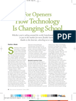 How Techonology is Changing School