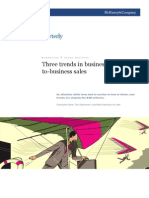McK Three Trends in Business to Business Sales