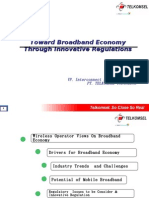 Toward Broadband Economy