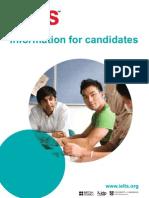 IETLS Information for Candidates Booklet