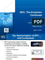 NFC the Evolution Continues WIMA 2011