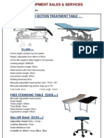 Medical Equipment Services & Repairs - 8426855 - Product Flyers