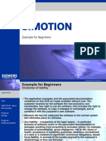 Simotion Example for Beginners d435 En