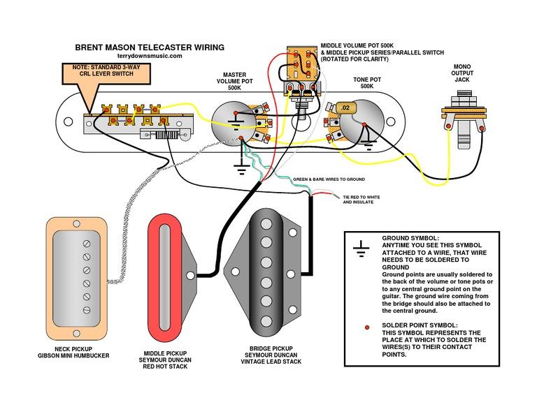 wiring diagram brent mason rh scribd com 2 Volume 1 T-One Wiring Diagram Volume Control Wiring Diagram