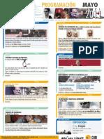 Programación Aula CAM de Orihuela Mayo 2011 Obra Social Caja Mediterráneo