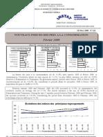 Indices des prix à la consommation - Fevrier 2009 (INSTAT - 2009)