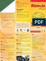 Programme Rémois et Moi et Toi 2011
