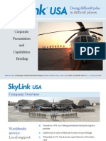 Skylink USA Customer Presentation - June 2010