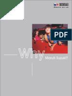 Why Maruti