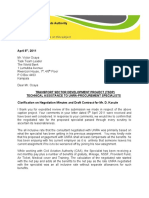 Clarification on Draft Contract Doc-Proc Specialist AB 07-04-2011