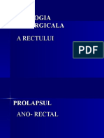 5patologia Chirurgicala a Rectului