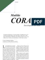 Entrevista a Matilde Coral