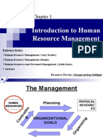 01. Introduction to Human Resource Management (E-)