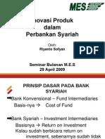 Riyanto Inovasi Produk Bank Syariah