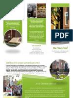 Folder GKV de Voorhof Franeker