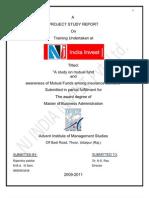 Project on Nj India Invest Pvt Ltd