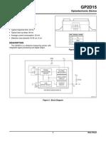 Gp2d15 Data Sheet