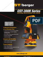 CST Reflector Less Total Station