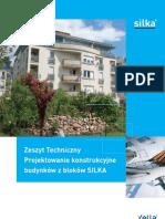 ZT Projektowanie Konstrukcyjne Budynkow z Blokow SILKA 12-2008