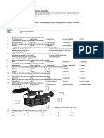 Soal Menerapkan Teknik Pengambilan Gambar Produksi