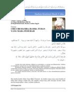 Khutbah Jum'at 2005-03-11 (Ciri-Ciri Hamba Tuhan Yang Maha Pemurah)