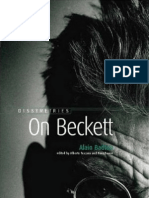 Badiou - On Beckett