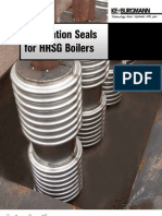 Expansion Joints for HRSG Boilers