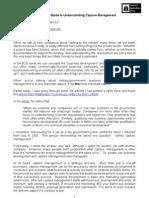 An Informal Guide to Understanding Capture Management