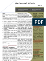 Maritime Technical Bulletin Issue 5 January 2011