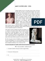 Camille CLAUDEL - Biographie