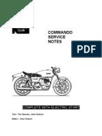 Norton 750cc Service Notes