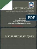 KEMAHIRAN MENGEJA (II)