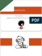 mafalda UNA ENSEÑANZA