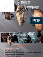1 Anthropology