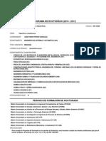 Programa Doctorado Ingeniería Industrial UVA 2010 11