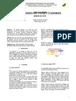 Redes FTP Informacion Basica