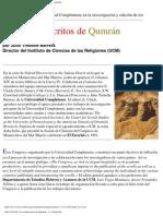 Trebolle Julio - Los Manuscritos de Qumran
