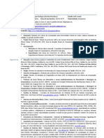 Curriculum - George Mendonça