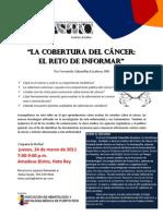 La cobertura del cáncer