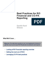 SAP R3 Reporting Practices