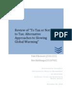 Review Carbon Tax Fliervoet Kubbinga