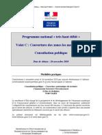 Consultation publique - Programme national « très haut débit » Volet C