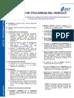 04 Cambio de Titular Id Ad Del Vehiculo